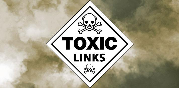 Премахване на токсични линкове